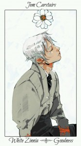 Jem Carstairs Flower Card