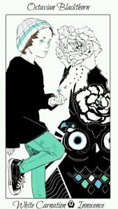 Octavian Flower Card
