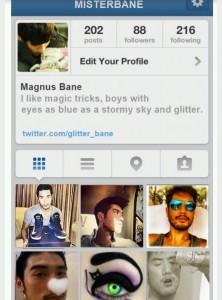 Magnus Bane Instagram
