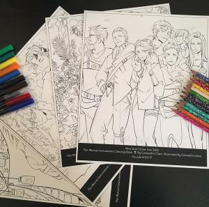 TMI Coloring Book